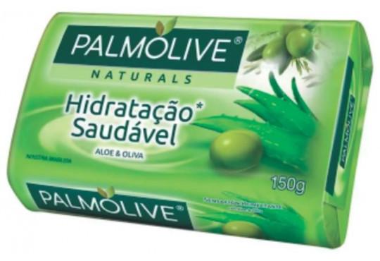 SABONETE PALMOLIVE VERDE OLIVA 12X150GR