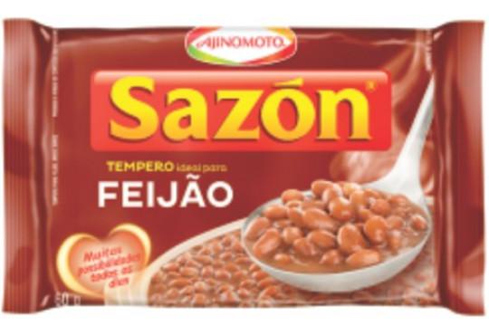 TEMPERO SAZON MAR FEIJAO/OVO 60GR