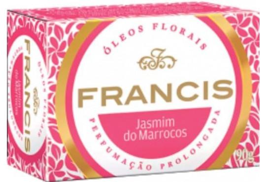 SABONETE FRANCIS CAIXA ROSA 6X90GR
