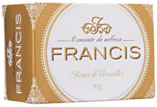 SABONETE FRANCIS CAIXA BRANCO 6X90GR