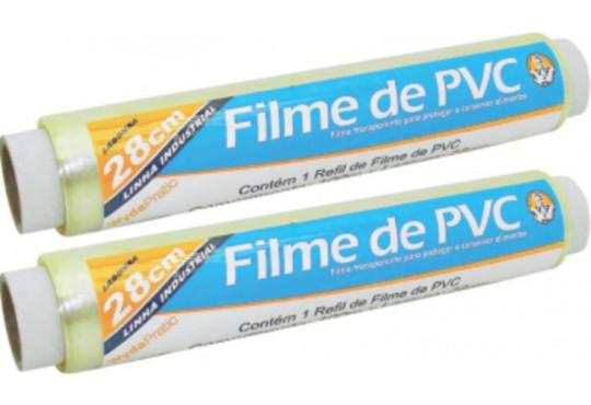 BOBINA FILME PVC WIDA 28CMX1000MTS REFIL