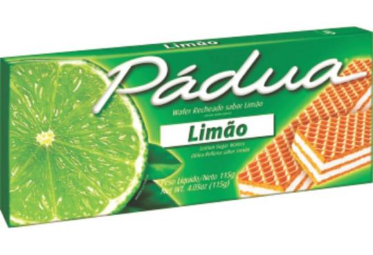 LANCHE WAFER´ PÁDUA LIMÃO 100GR