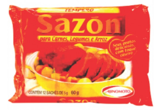 TEMPERO SAZON VERMELHO CARNE LEG 60GR