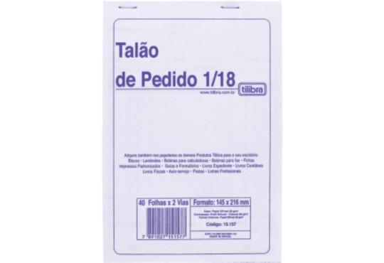BLOCO PEDIDO MÉDIO 25FLH 2 VIAS
