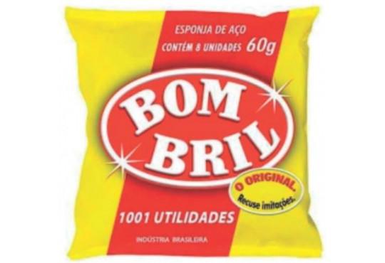 LÃ DE AÇO BOMBRIL C/ 14 60GR