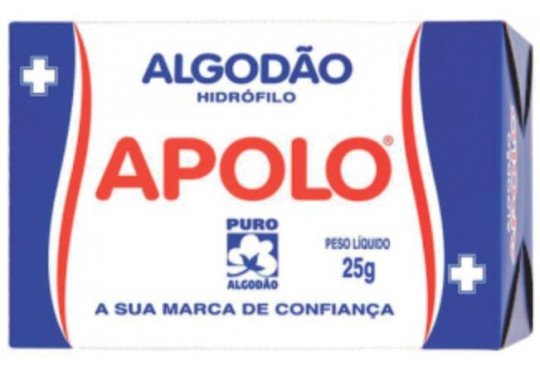 ALGODÃO APOLO HIDRÓFILO 25G