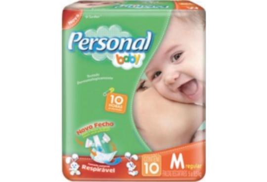 FRALDA PERSONAL BABY REGULAR MÉDIA C/ 10