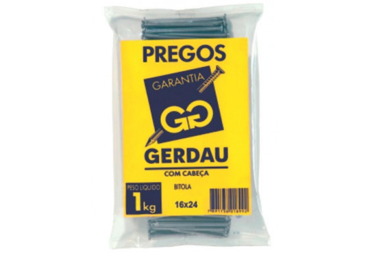 PREGO GERDAU 16X24 1KG