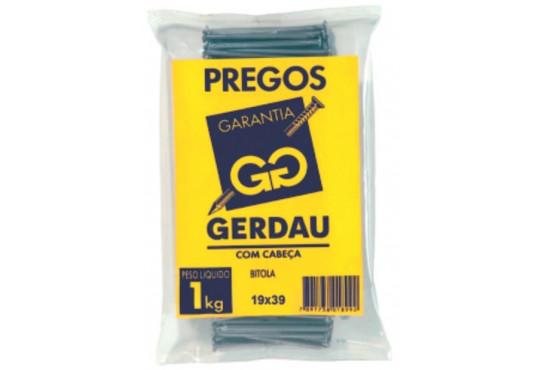 PREGO GERDAU 19X39 1KG