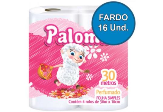 PAPEL HIG. PALOMA PERFUMADO 16X4X30 MT