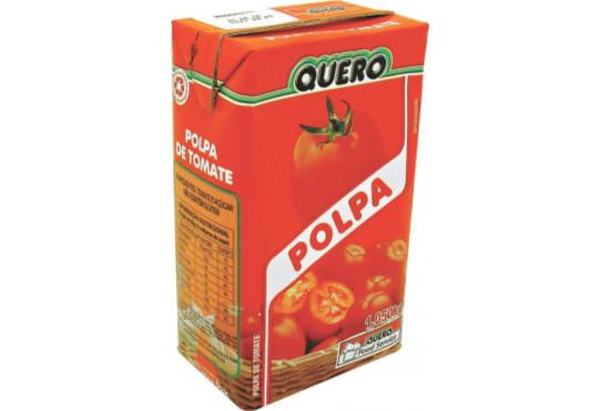 EXTRATO DE TOMATE QUERO POLPA 1,050GR