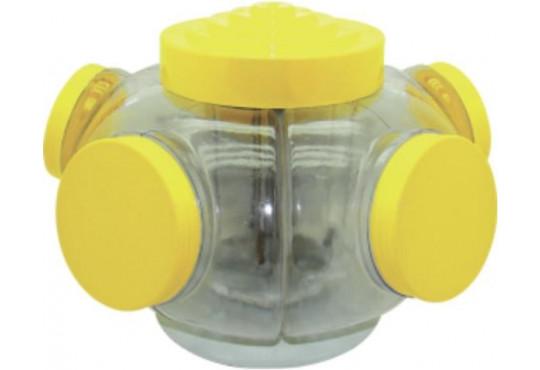BALEIRO PLAST. GIRAT.1 ANDAR C/ 5 BOCAS TOK
