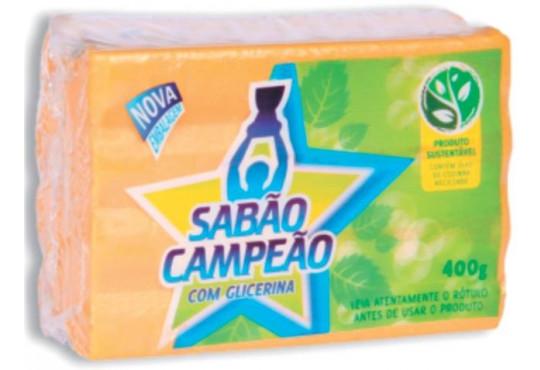 SABÃO BARRA SANTO ANTÔNIO 40X400 AMARELO