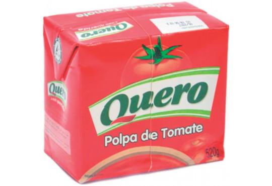 EXTRATO DE TOMATE QUERO POLPA 520GR