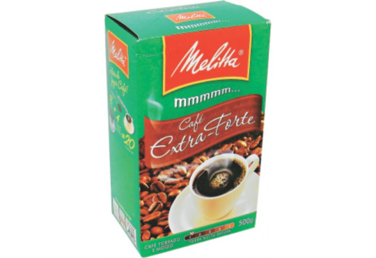 CAFÉ MELITTA EXTRA FORTE 500GR