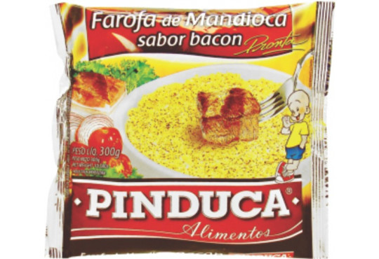 FAROFA PINDUCA BACON 250GR