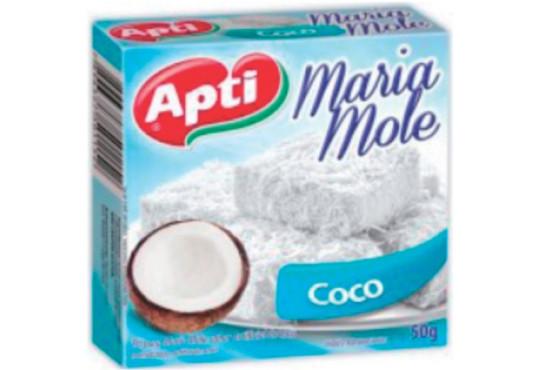 PÓ P/ MARIA MOLE APTI COCO 50GR