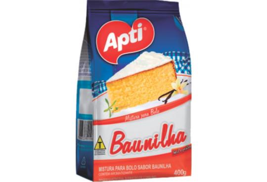 BOLO APTI BAUNILHA 400GR