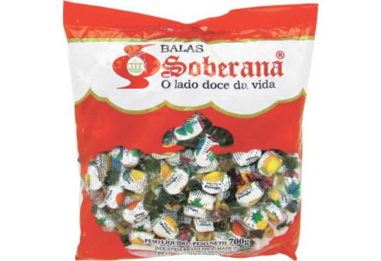 BALA SOBERANA GIGANTE FRUTILANDER 600GR