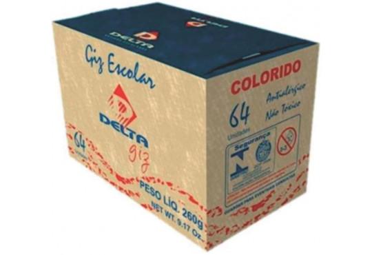 GIZ ESCOLAR DELTA CORES C/ 64
