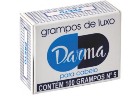 GRAMPO CABELO DARMA PRETO C/ 100