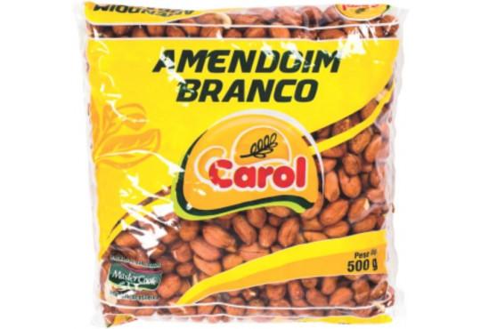 AMENDOIM CAROL BRANCO 500GR