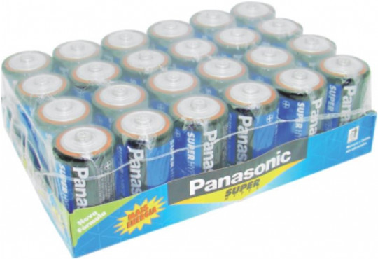 PILHA PANASONIC A GRANDE C/ 24