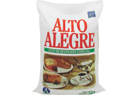 AÇÚCAR REFIN ALTO ALEGRE 6X5KG