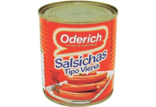 SALSICHA ODERICH LATA 180GR
