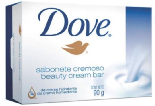 SABONETE DOVE CREMOSO BRANCO 6X90GR