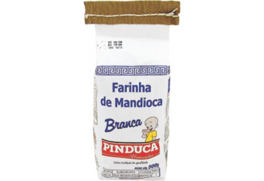 FARINHA DE MANDIOCA PINDUCA 500GR