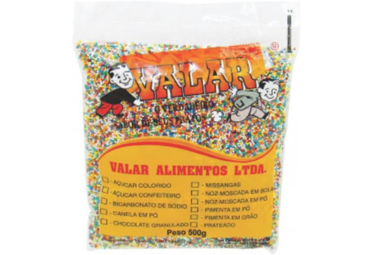 MISSANGA COLORIDA VALAR 500GR