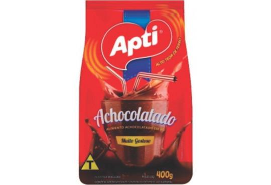 ACHOCOLATADO EM PÓ APTI 400GR
