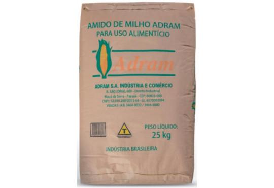 AMIDO DE MILHO ADRAM 25KG