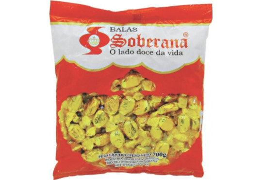 BALA SOBERANA MILKLANDER COCO QUEIM. 600GR