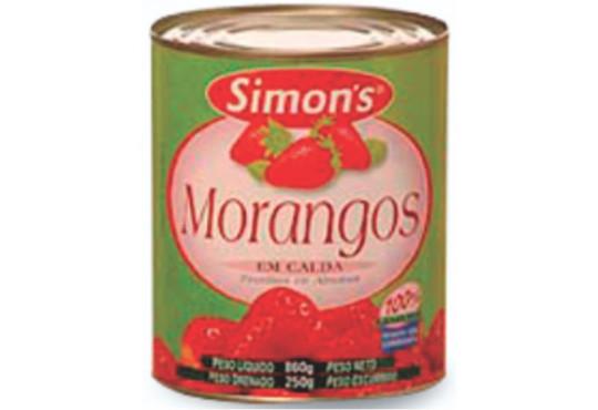 MORANGO EM CALDA SIMONS 250GR
