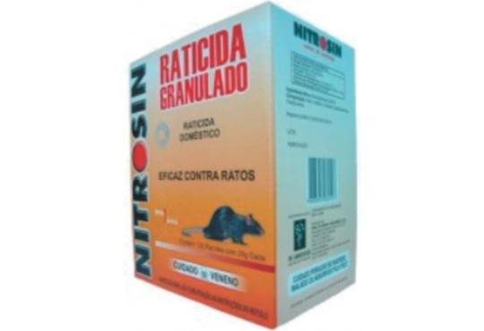 INSET. NITROSIN GRANULADO RATICIDA 25G