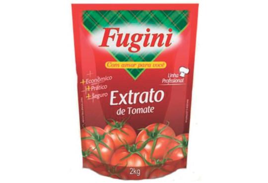 EXTRATO DE TOMATE FUGINI BAG 2KG