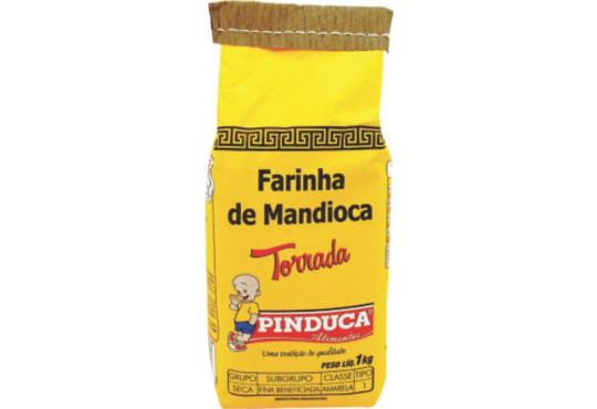 FARINHA DE MANDIOCA PINDUCA TORRADA 1KG