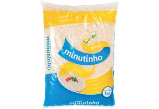 ARROZ MINUTINHO BRANCO 1KG