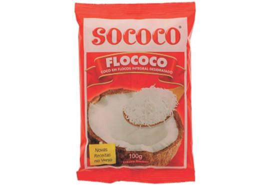 CÔCO FLOCOS SOCOCO 100GR