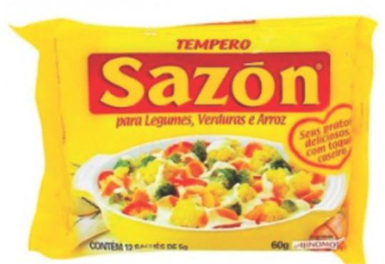 TEMPERO SAZON AMARELO LEG/VER/ARRO 60GR