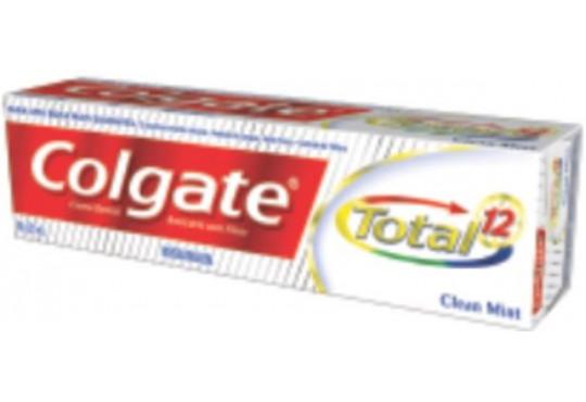 CREME DEN COLGATE TOTAL 12 CLEAM MINT 90GR