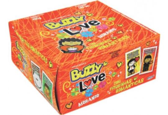 CHICLÉ BUZZY LOVE TUTTI-FRUTI C/ 100