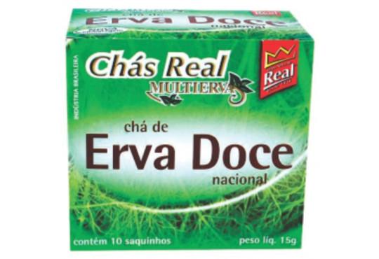CHÁ MATE REAL ERVA DOCE C/ 10