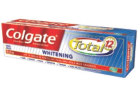 CREME DEN COLGATE TOTAL 12 WHITENING 90GR