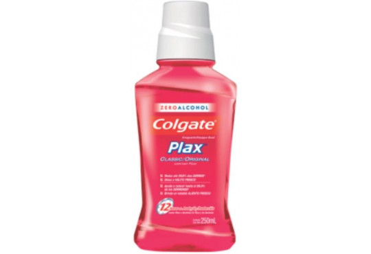 ENXAGUANTE BUCAL COLGATE PLAX CLASSIC 250ML