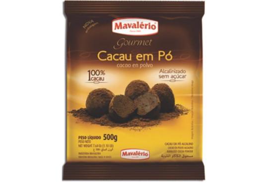 CACAU EM PÓ PURO MAVALERIO 500GR