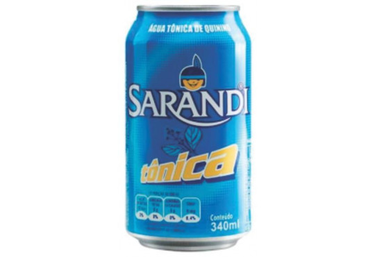 ÁGUA TÔNICA SARANDI 340ML