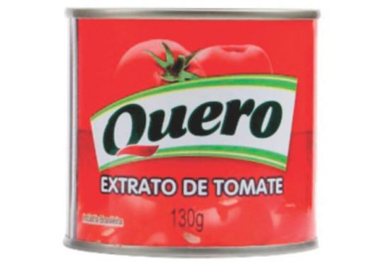 EXTRATO DE TOMATE QUERO 130GR